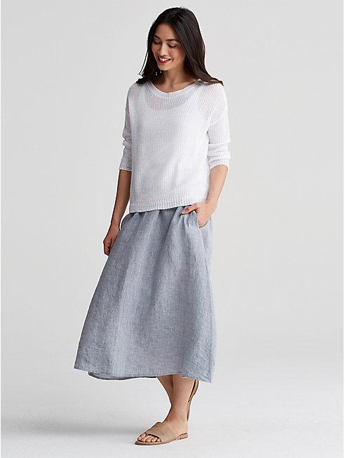 Organic Handkerchief Linen Skirt