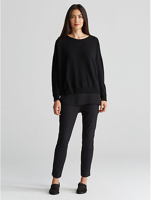 Seamless Cashmere Box-Top