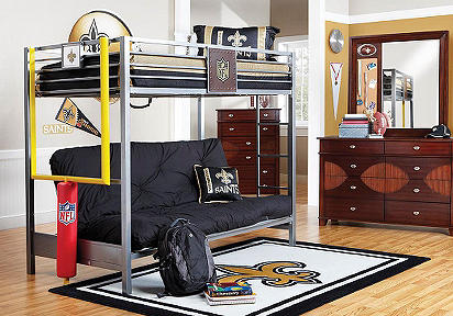 New Orleans Saints Bedroom Decor Home Decorating Ideas